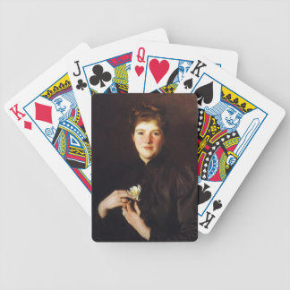John Singer Sargent- Mrs. Augustus Hemenway Bicycle Playing Cards