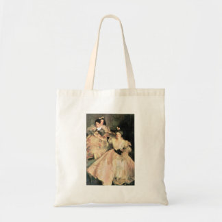 John Singer Sargent - Mrs Carl Meyer and Her Child Canvas Bags