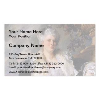 John Singer Sargent- Mrs. Ernest Hills Business Card Templates
