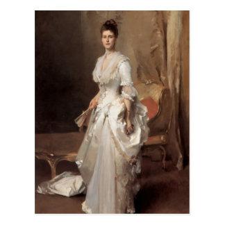 John Singer Sargent- Mrs. Henry White Postcard