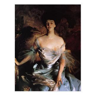 John Singer Sargent- Mrs. Joseph E. Widener Postcard