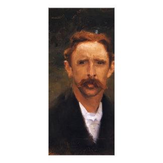 John Singer Sargent- My Friend Chadwick Rack Card Design
