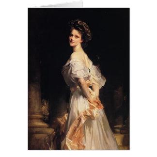 John Singer Sargent- Nancy Astor Card