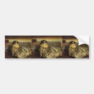 John Singer Sargent- Nonchaloir (Repose) Bumper Sticker