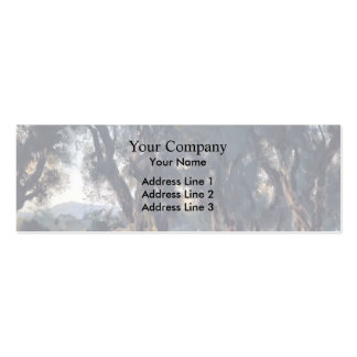 John Singer Sargent- Olive Trees at Corfu Business Card