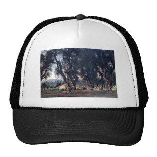 John Singer Sargent- Olive Trees at Corfu Trucker Hats