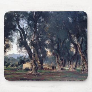 John Singer Sargent- Olive Trees at Corfu Mousepads