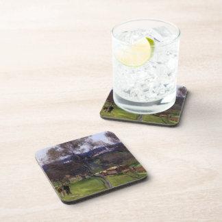 John Singer Sargent- Olive Trees Corfu Beverage Coaster