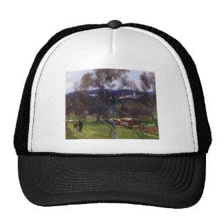 John Singer Sargent- Olive Trees, Corfu Mesh Hat
