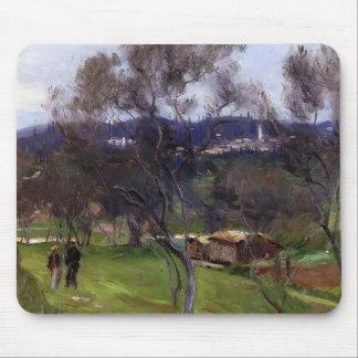 John Singer Sargent- Olive Trees Corfu Mousepads