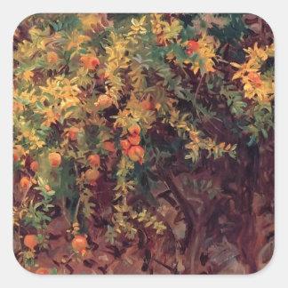 John Singer Sargent- Pomegranates Stickers