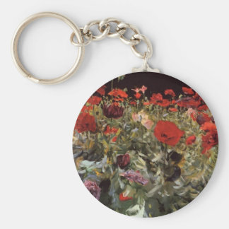 John Singer Sargent- Poppies Key Chains