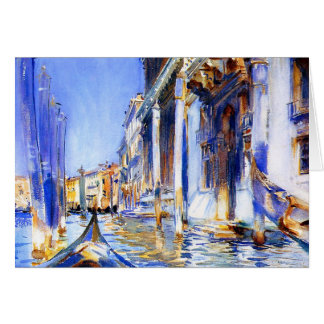 John Singer Sargent Rio dell'Angelo Venice Card