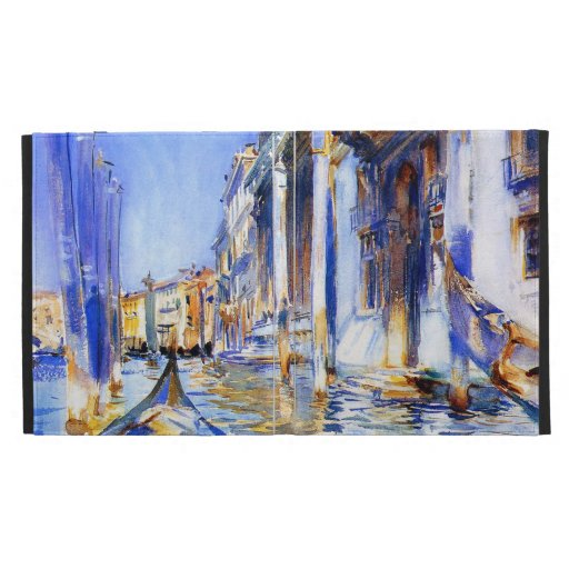 John Singer Sargent Rio dell'Angelo Venice iPad Case
