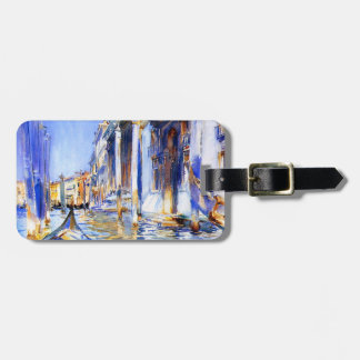 John Singer Sargent Rio dell'Angelo Venice Luggage Tag
