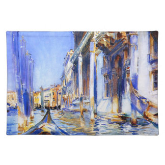 John Singer Sargent Rio dell'Angelo Venice Placemat