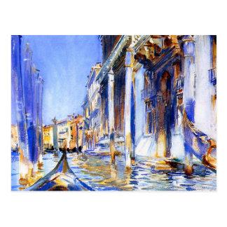 John Singer Sargent Rio dell'Angelo Venice Postcard
