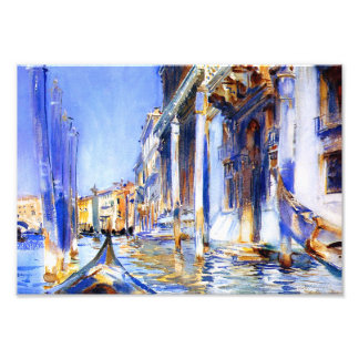 John Singer Sargent Rio dell'Angelo Venice Print