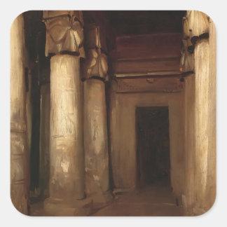 John Singer Sargent- Temple of Denderah Stickers