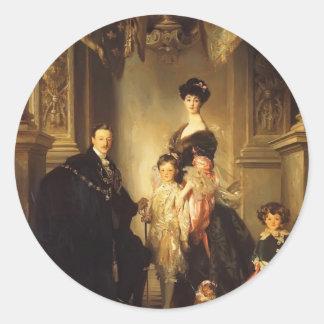 John Singer Sargent- The Marlborough Family Sticker