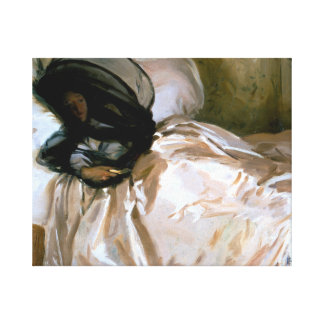 John Singer Sargent - The Mosquito Net Stretched Canvas Prints