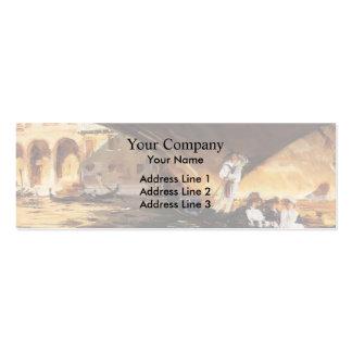John Singer Sargent- The Rialto, Venice Business Card Template