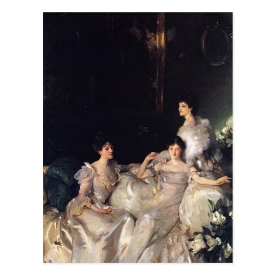 John Singer Sargent- The Wyndham Sisters Postcard