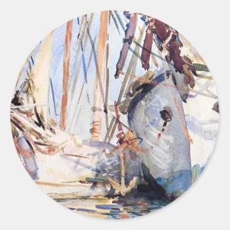 John Singer Sargent: White Ships Stickers