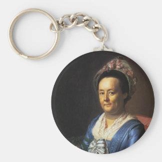 John Singleton Copley- Mrs. John Winthrop Keychains