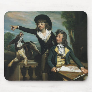 John Singleton Copley- The Western Brothers Mouse Pad