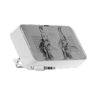 John Singleton Copley- Two Equestrian Figures iPod Speakers
