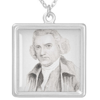 John Smeaton, from 'Old England's Worthies' Silver Plated Necklace