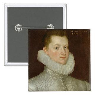 John Smythe of Ostenhanger (now Westenhanger) Kent 15 Cm Square Badge