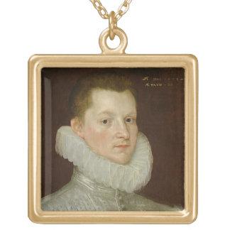 John Smythe of Ostenhanger (now Westenhanger) Kent Gold Plated Necklace