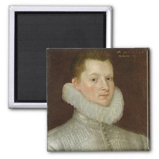 John Smythe of Ostenhanger (now Westenhanger) Kent Square Magnet