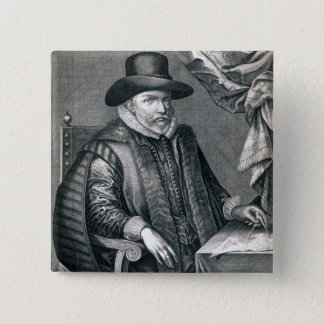 John Speed, published by George Humble, 1632 15 Cm Square Badge