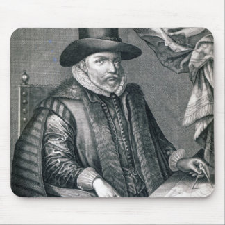 John Speed, published by George Humble, 1632 Mouse Mat