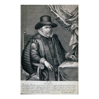 John Speed, published by George Humble, 1632 Poster