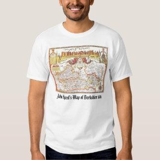 John Speed's Map of Berkshire 1611, John Speed'... T Shirts