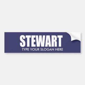 JOHN STEWART Election Gear Bumper Sticker
