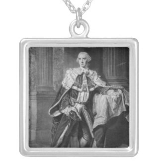 John Stuart, 3rd Earl of Bute, 1763 Silver Plated Necklace