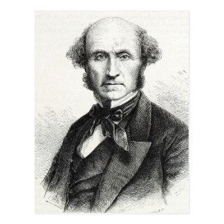 John Stuart Mill Portrait Postcard