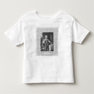 John Stuart, Third Earl of Bute, engraved Toddler T-Shirt
