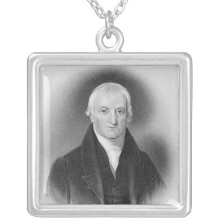 John Syme Esq., c.1820 Silver Plated Necklace