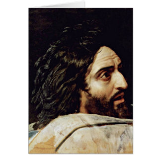 John The Baptist By Alexander Andreyevich Ivanov Greeting Card