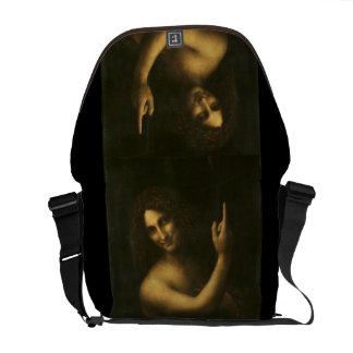 John the Baptist - Leonardo Da Vinci (1513-1516) Commuter Bags