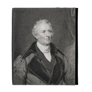John Trumbull (1756-1843) engraved by Asher Brown iPad Folio Cases
