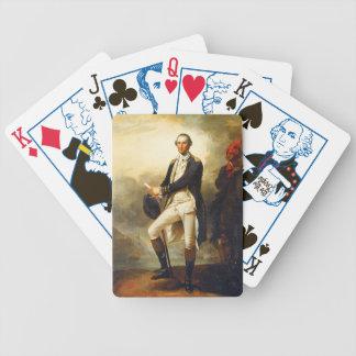 John Trumbull - George Washington Before Trenton Bicycle Playing Cards