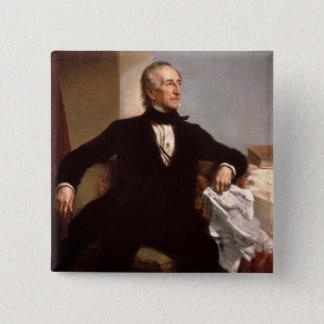 John Tyler 15 Cm Square Badge