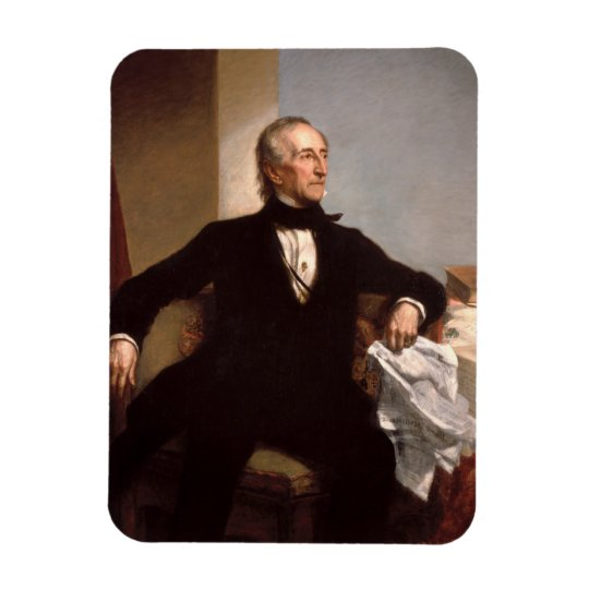 John Tyler Rectangular Photo Magnet